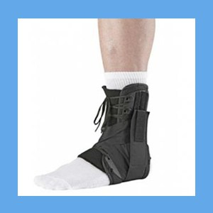 Ossur Form Fit Ankle Brace w/Figure 8 Straps exoform form fit ankle brace, comfort, compression, Ossur