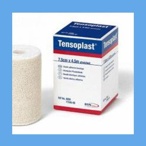 Tensoplast Elastic Tape 1 x 5 Yards, 1 Roll bandage, elastic, elastoplast, tape, stretch, support, Tensoplast