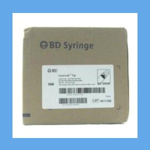 "BD Syringe with Needle Combo, 3 ml 22g x 1 1/2"" syringes, needles, BD, disposable, polycarbonate"
