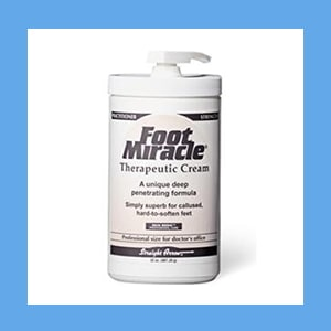 Foot Miracle Cream 32 oz. Pump cream, Foot Miracle, comfort, rejuvenates