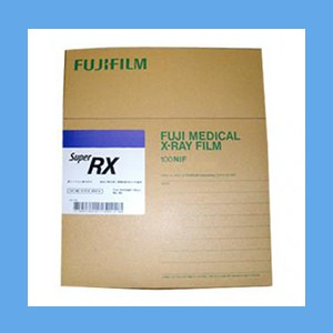 Fuji X-Ray Film, Full Speed, Blue 8 x 10 fujifilm, x-ray, image quality, speed, grain