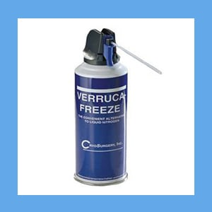 Verruca-Freeze Replacement Can, 150 ml. (50) Freezes cryosurgical systems, Verrucca-Freeze