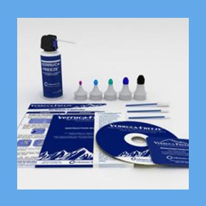 Verruca-Freeze Kit, 150 ml. (50) Freezes cryosurgical systems, Verrucca-Freeze