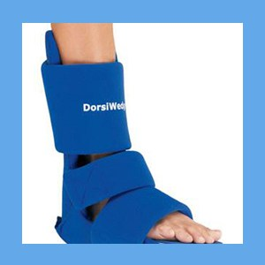 Dorsiwedge Night Splint, Small night splint, dorsiwedge, dorsiflexion, padded