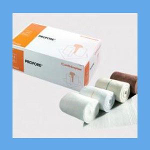 Profore Four Layer Bandaging System bandaging system, Profore, four layer, compression