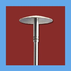 #7 Diamond Bur - UMBRELLA bur, diamond, abrasive