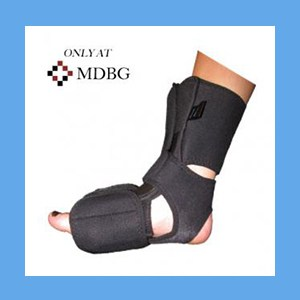 Equus Dorsal Night Splint w/ Neoprene Heel Strap, SMALL/MEDIUM night splint, dorsal, heel, stretch, flexibility