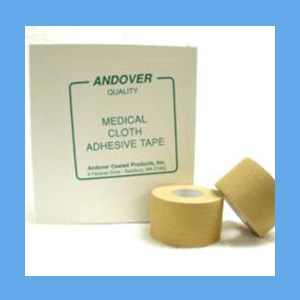 "Andover Medical Cloth Adhesive Tape 1 1/2"" WHITE OVERSTOCK adhesive tape, cloth, medical, Andover"