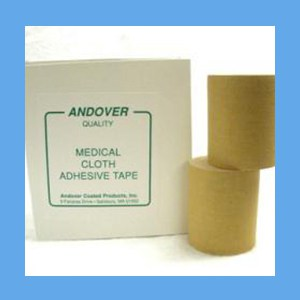 "Andover Medical Cloth Adhesive Tape 3"" adhesive tape, cloth, medical, Andover"