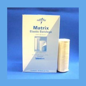 "Medline Elastic Bandage with Velcro Closure, 6"" x 5 Yards elastic, bandage, low compression, velcro"