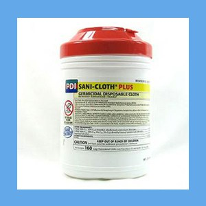 PDI Sani-Cloth Plus Disinfectant Wipes disposable wipe, germicidal