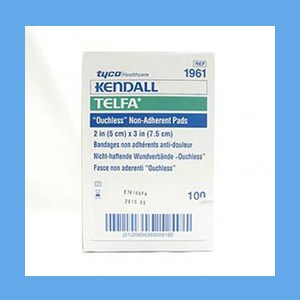 "Telfa Pads, Non-Adhesive, 2"" x 3"" pads, telfa, protection, non-adhesive, easy removal"