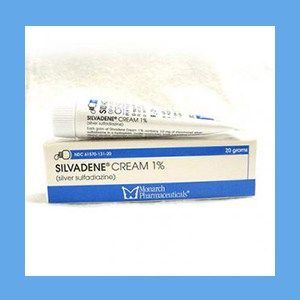Silvadene Cream 20 gm Silvadene Cream 20 gm, sulfonamide
