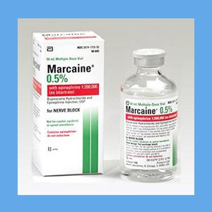 Marcaine .5% with Epinephrine 50ml local anesthetic, Marcaine .5% with epinephrine