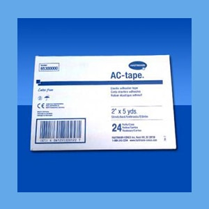 AC-Tape Bulk Pack, 2x5 yds-24 rolls/case elastic adhesive tape, all-cotton, latex free, AC-Tape