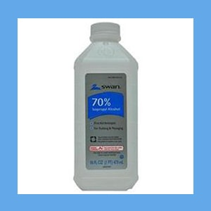 Alcohol, 70% Isopropyl , 1 Pint alcohol, isopropyl, external use