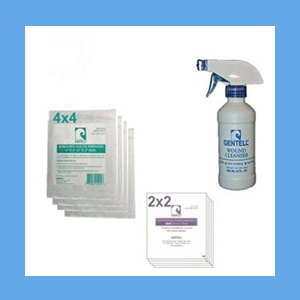 Calcium Alginate 2x2 Wound Care Kit wound care, kit