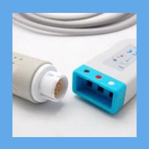 3 Lead ECG Trunk Cable Image may differ from actual product