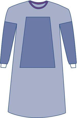 Sterile Fabric-Reinforced Eclipse Surgical Gown surgical gown