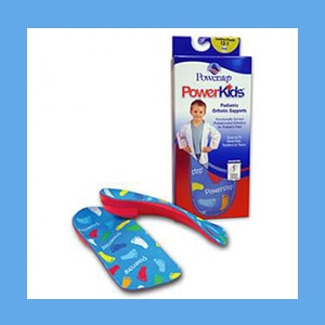 Powerstep PowerKids orthotic insoles