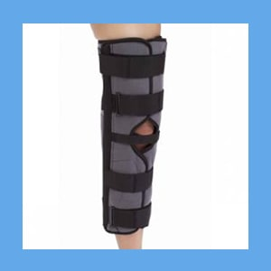 "Procare 3-Panel Knee Splint, 14"" knee splint"