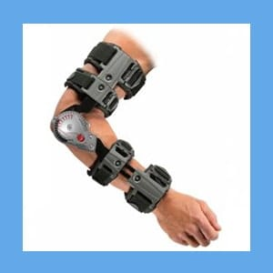 Don Joy X-Act ROM Elbow Brace, Left elbow brace