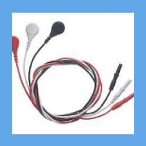 ECG Lead Wire 3 Safety Color Coded Connectors 18 Inch  ECG, Lead, wire, connectors, 2000 series, passport