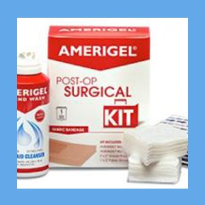AmeriGel Post-Op Surgical Kit surgical kits, post-op, AmeriGel, consistent, compliant