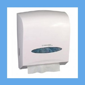 Universal Towel Dispenser Pearl White Dispenser, Towel windows Scottfold, white, universal