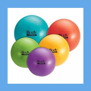 "Body Sport 75 CM. Fitness Ball  Recommended for body heights 6'2""-6'8"" Body Sport 75 CM. Fitness Ball  Recommended for body heights 6'2""-6'8"""