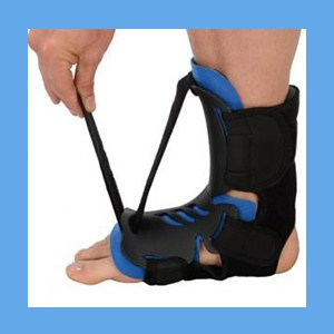 Plantar Fasciitis Dorsal Hybrid Night Splint Plantar Fasciitis Dorsal Hybrid Adjustable Night Splint L/XL