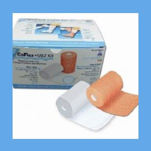 "CoFlex UBZ Unna Boot Kit with Zinc Latex Free 3""x6"" Tan CoFlex UBZ Unna Boot Kit with Zinc Latex Free 3""x6"" Tan"