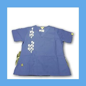 Wonder Wink Scrub Top Neo Matrix I Galaxy Blue (SMALL) OVERSTOCK Scrubs Top Neo Matrix I Galaxy Blue