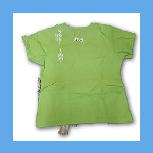 Wonder Wink Scrub Top Neo Matrix I Green Apple (EXTRA LARGE) OVERSTOCK Scrubs Top Neo Matrix I Green Apple