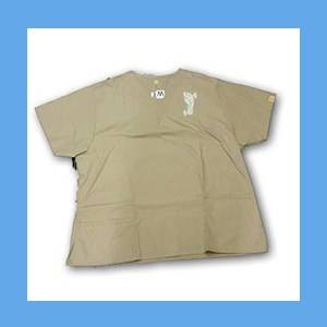 Wonder Wink Scrub Top Henna Tattoes Khaki (3 XL) OVERSTOCK Scrubs Top Henna Tattoes Khaki