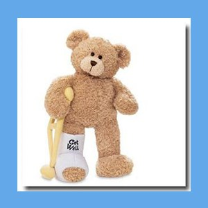 Break-A-Leg Bear OVERSTOCK Break-A-Leg Bear