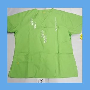 Wonder Wink Scrub Top Neo Matrix II Green Apple OVERSTOCK Scrubs Top Neo Matrix II Green Apple