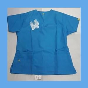 Wonder Wink Scrub Top Sole Mates Malibu OVERSTOCK (LARGE) Scrubs Top Sole Mates Malibu