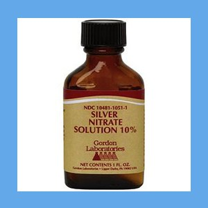 Gordon's Silver Nitrate Solution 10% 1oz Silver Nitrate Solution