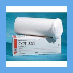 Cotton Absorbant Roll Sterile Lb Cotton Absorbant Roll Sterile Lb