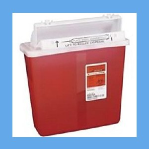 Covidien Sharps Container, 5 Qt. instrument disposal, sharps, covidien