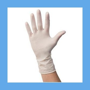 Cardinal Health Positive Touch Non-Sterile Latex Exam Gloves Positive Touch Latex Exam Gloves, Powder Free, Non-Sterile