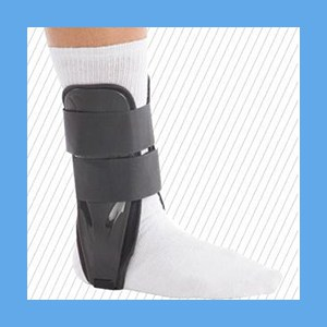 United Ortho Foam Stirrup Ankle Brace Sport Fit Small Foam CPT: L4350