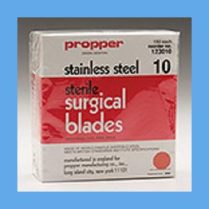 Propper Stainless Steel Sterile Surgical Blades #10 blades, Non- sterile, surgical, stainless steel, quality, value