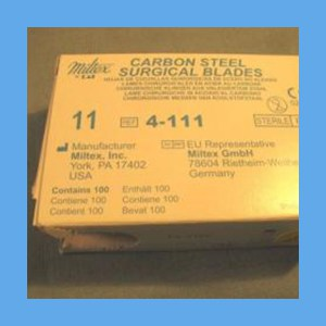 Miltex Surgical Blades Carbon Steel #11 surgical blades, Miltex, carbon steel, sterile