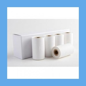 Doppler Adhesive Backed Paper Rolls 5/Box Doppler Adhesive Backed Paper Rolls 5/Box