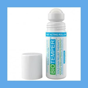 BioTemper Pain Relief Roll On 3 Oz. (Like Biofreeze)- NEW PRODUCT BioTemper Pain Relief Roll On 3 Oz. (Like Biofreeze)