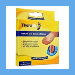 Silipos TheraStep Delux Gel Bunion Sleeve Universal 1 Sleeve/ Package #7018 Retail Packaging Silipos TheraStep Gel Bunion Sleeve Universal 1 Sleeve/ Package #7013