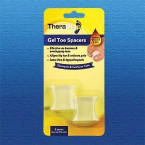 Silipos TheraStep Gel Toe Spacer One Size Fits Most 2/Pkg - Retail Packaging #7002 Silipos TheraStep Gel Toe Spacer One Size Fits Most 2/Pkg - Retail Packaging