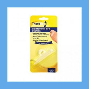Silipos TheraStep™ Gel Hammer Toe Cushion Universal 1/ Pkg. -Retail Packaging #7007 Silipos TheraStep™ Gel Hammer Toe Cushion Universal 1/ Pkg. -Retail Packaging #7007